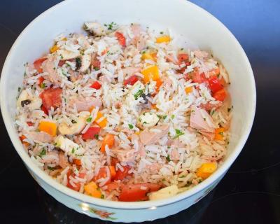 Recette salade de riz ig bas