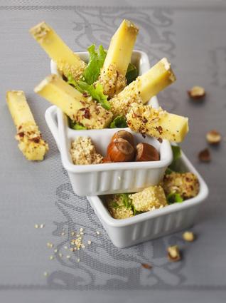 Recette de doigts de cantal entre-deux aux fruits secs