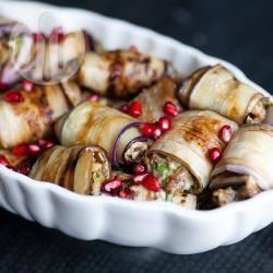 Recette roulés d'aubergines aux noix – toutes les recettes allrecipes