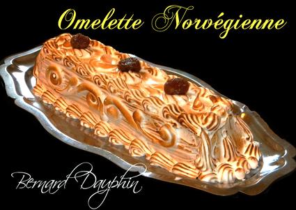 Recette omelette norvégienne aux marrons glacés