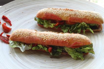 Recette de sandwich le méridional