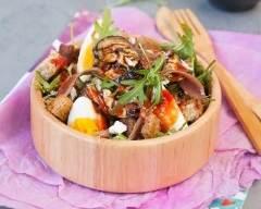 Recette salade de croutons italienne