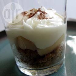 Recette verrines légères poire et chocolat blanc – toutes les ...
