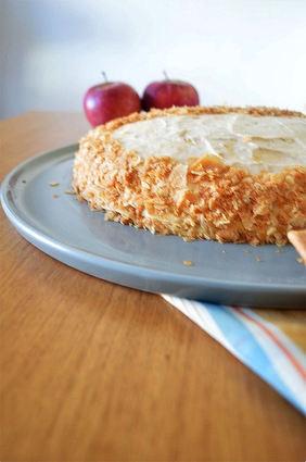 Recette de gâteau de crêpes mousse au caramel beurre salé