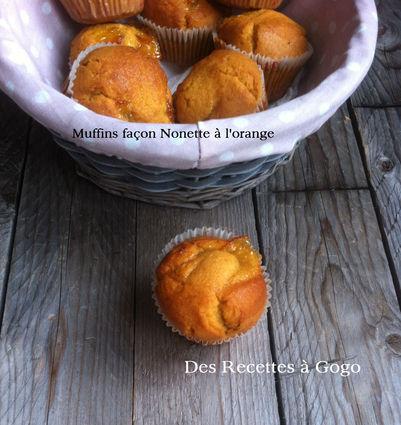 Recette de muffins façon nonette à l'orange