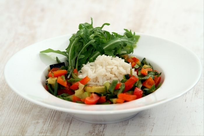 Recette de riz végétarien étuvé à la vapeur facile et rapide