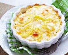 Recette gratin de pomme de terre à la béchamel