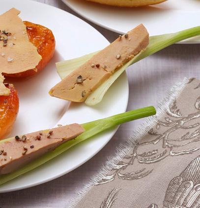Sabl s au foie gras et abricots secs pour 4 personnes recette - Quantite foie gras par personne ...