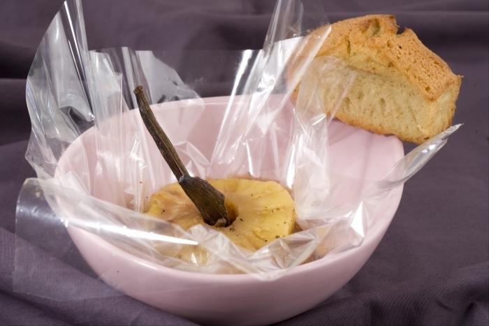 Recette de ananas au rhum vanillé de carambar en papillote ...