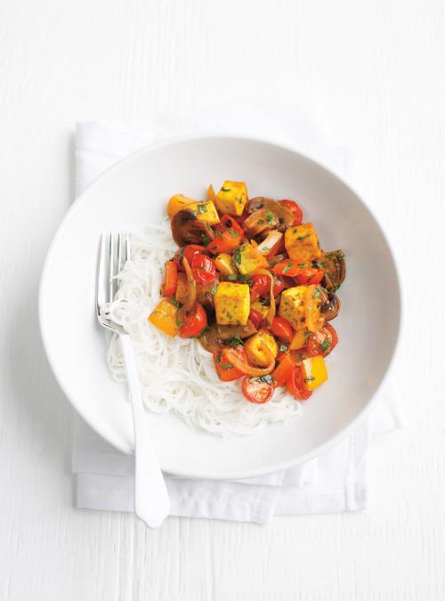 Cari de tofu aux fruits cuisine az recette for Az cuisine minceur