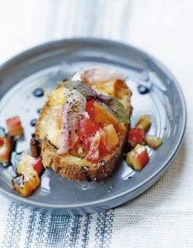 Bruschetta sardines fraîches et tomates ananas pour 4 personnes ...