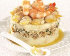 Ratte du touquet au crevette et éclats de noix | cuisine az