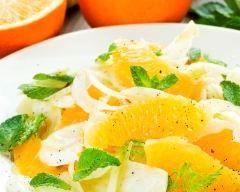 Recette salade de fenouil à l'orange