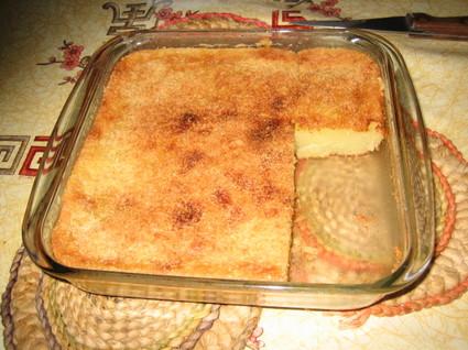 Recette de gâteau au manioc