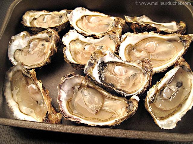 Ouvrir des huitres  fiche recette avec photos  meilleurduchef.com