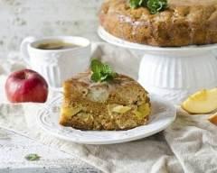Recette gâteau moelleux aux pommes facile