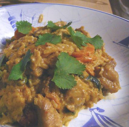 Recette de curry de dinde aux courgettes et aux carottes