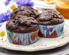 Recette muffins chocolat et courgettes
