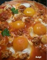 Recette de tajine de kefta aux oeufs et pommes de terre