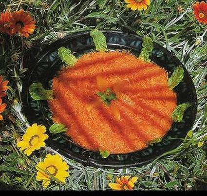 Recette de salade de carottes au persil