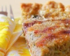 Recette tarte au thon créole