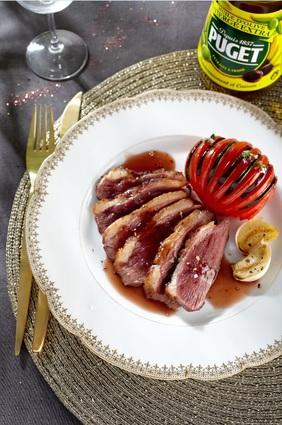 Recette de magret de canard et son tian provençal