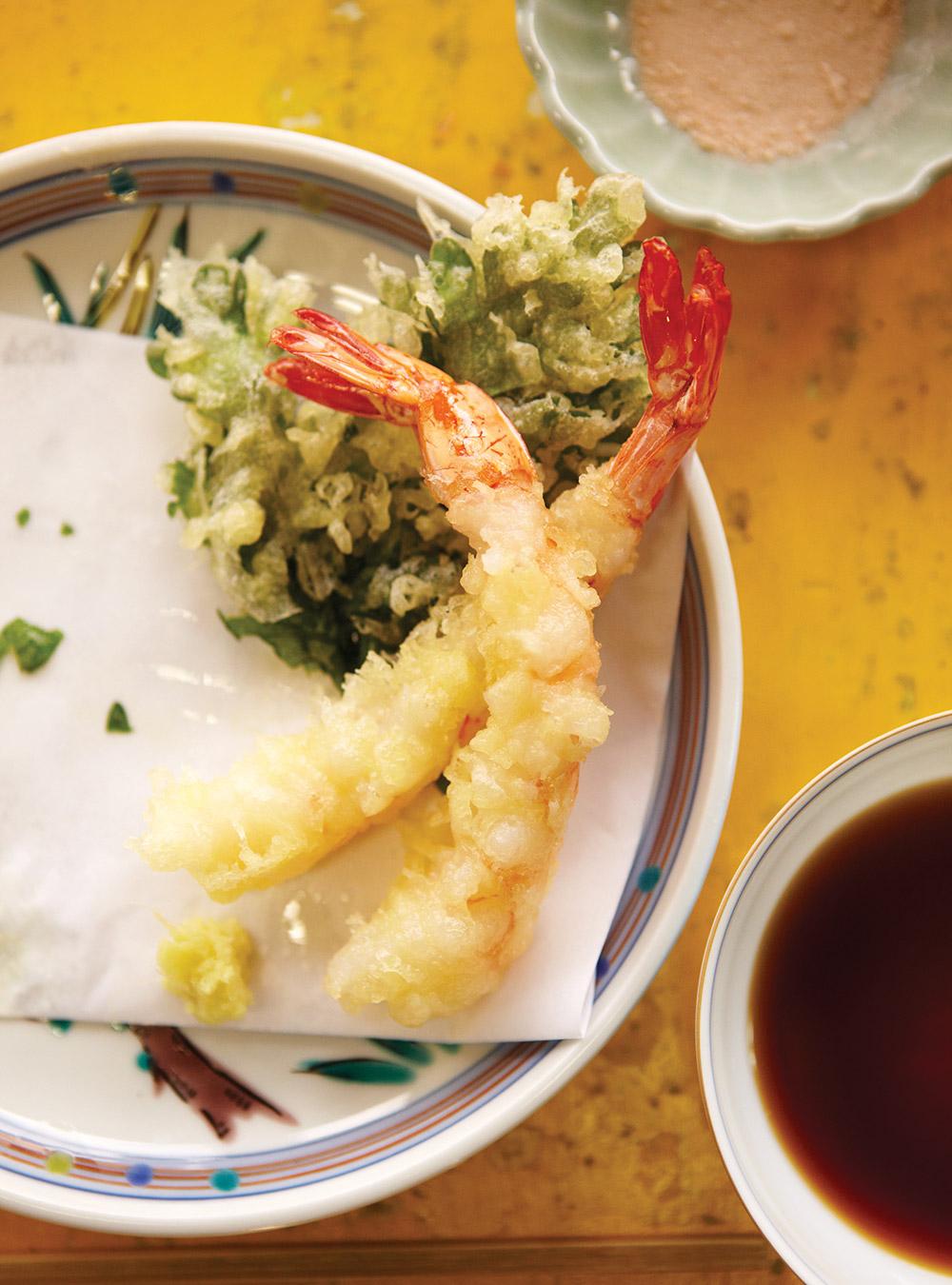 Tempura de légumes et de fruits de mer | ricardo