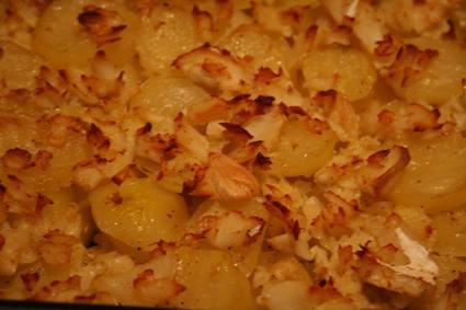 Recette de morue aux pommes de terre
