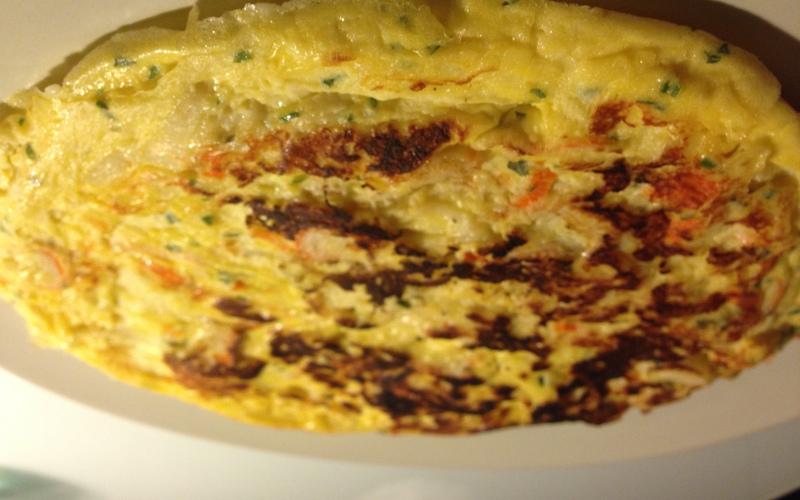 Recette omelette au surimi et fromage pas chère et express ...