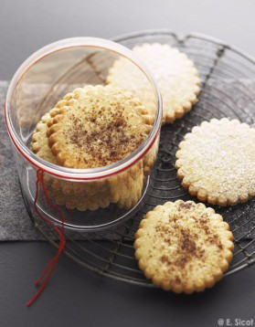 Biscuits sablés amandes ou noisettes pour 8 personnes