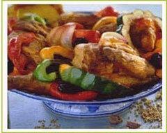 Recette poulet aux légumes à la provençale