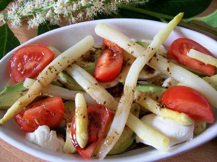 Recette de méli-mélo d'asperges à l'italienne