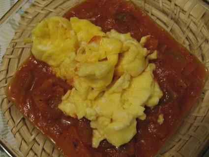 Recette omelette façon basquaise