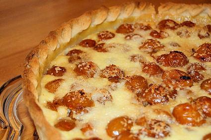 Recette de tarte aux mirabelles et à la noix de coco