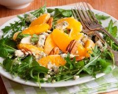 Recette salade à l'orange, au roquefort et aux noix