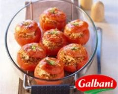 Recette tomates farcies au blé gratiné au pastissimo et au basilic