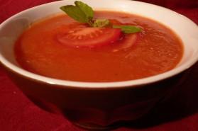 Soupe très light à la tomate pour 6 personnes