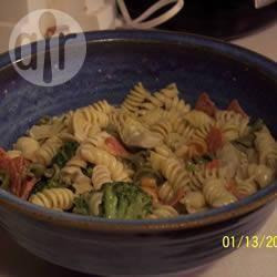 Recette salade de pâtes facile artichaut