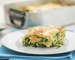 Recette lasagnes au saumon, épinards et aneth