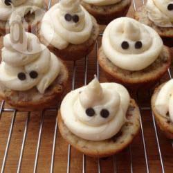 Recette cupcakes fantômes pour halloween – toutes les recettes ...
