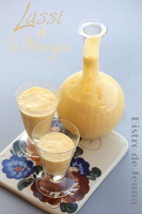 Recette de lassi à la mangue au yaourt