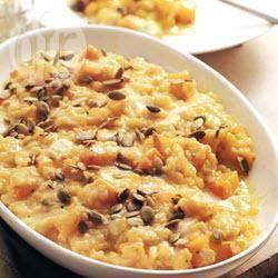 Recette risotto au potiron et au maïs – toutes les recettes allrecipes
