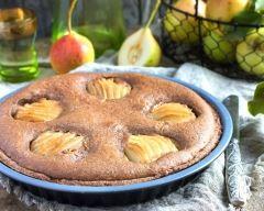 Recette tarte amandine poire et chocolat