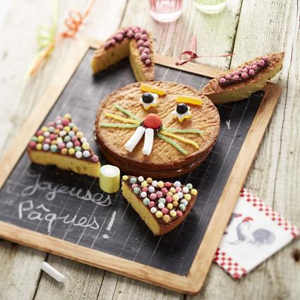 Recette de lapin de pâques en gâteaux bretons, pâte à tartiner et ...