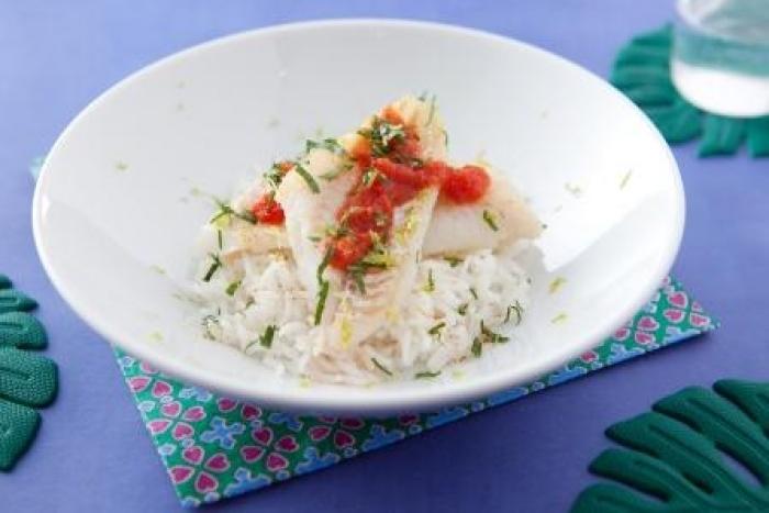Recette de macadam de merlan, riz créole facile et rapide