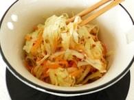 Recette de salade de chou-rave, carotte et pomme