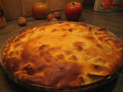 Recette de moelleux aux pommes