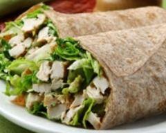 Recette salade césar façon wrap