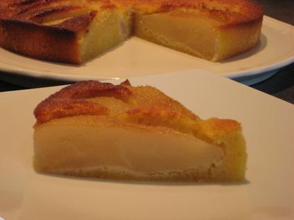 Recette de gâteau poire-amande