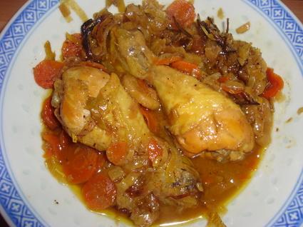 Recette de poulet au curry et sirop d'érable